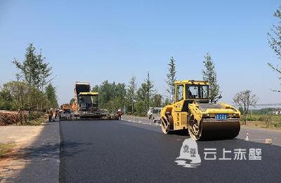 赤壁:加快107国道改扩建工程建设 早日竣工造福于民