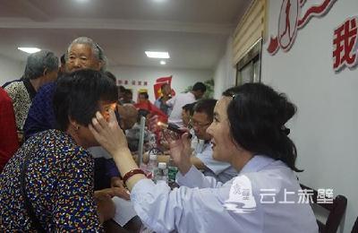 赤壁:医共体进乡村 便民义诊暖人心