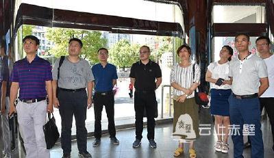 快讯 冷水江市委宣传部组团参观学习赤壁市融媒体中心建设