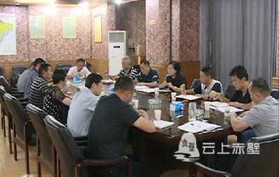 市领导调研督导黄盖湖镇全面从严治党主体责任落实工作