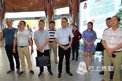 快讯 湖南省汨罗市委宣传部组团参观学习赤壁市融媒体中心建设