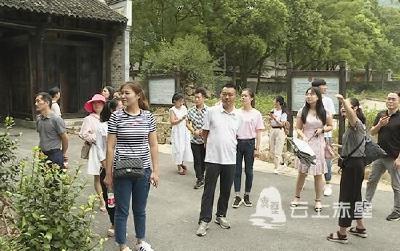 """赤壁:20名导游赴茶旅路线首""""热身"""" 积极备战第五届中国茶业大会"""
