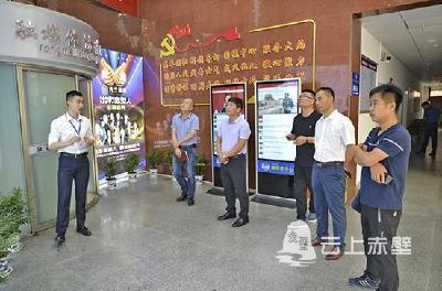 快讯|吉林省汪清县委宣传部组团调研赤壁市融媒体中心建设