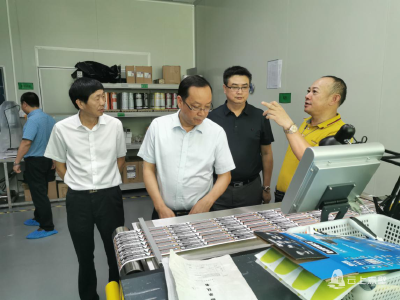 盛文军带队赴深圳、东莞、广州等地考察招商 推动项目落地年进一步取得实效