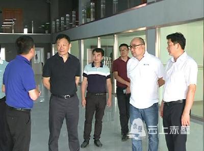 V视 I 董方平调研督导重点工业项目推进工作