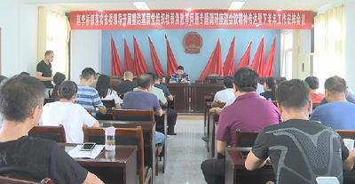 赵李桥镇召开落实市委主要领导专题调研会议精神暨下半年工作安排会议