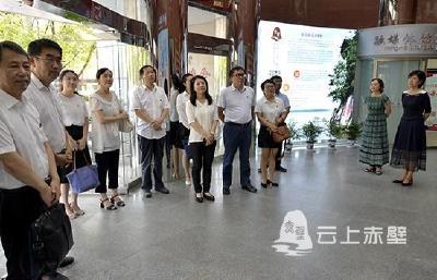 国网湖北电力党委宣传部组团调研赤壁市融媒体中心建设