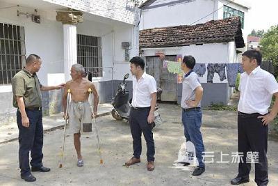 赤壁:精准扶贫 人大代表在行动