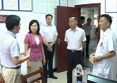 """市领导开展""""8.19""""中国医师节走访慰问活动"""