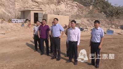 董方平突击暗访非煤矿山企业安全生产工作