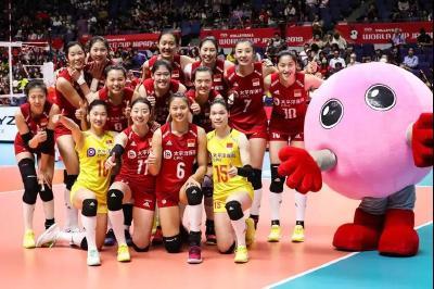 习近平致电祝贺中国女排夺得2019年女排世界杯冠军