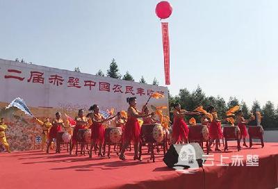 金秋赤壁 五谷丰登 赤壁市第二届农民丰收节开幕
