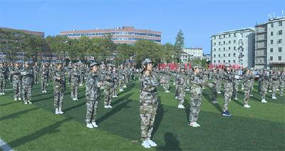 车埠高中举行秋季田径运动会