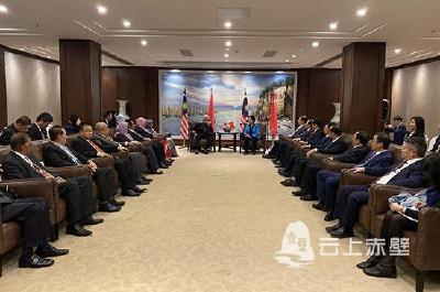 【盛会进行时】湖北省、咸宁市、赤壁市领导会见多个国家和地区来宾
