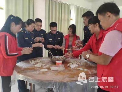 赤壁:志愿者义工服务送温暖