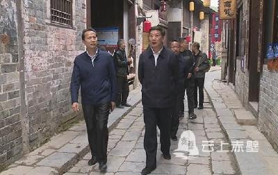 岳阳县政协考察学习赤壁市人居环境整治工作经验