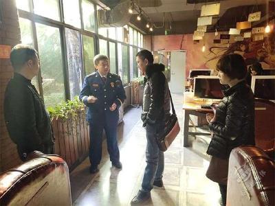 赤壁消防救援大队开展文旅类场所消防安全专项检查