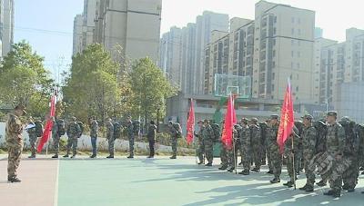 咸宁军分区对赤壁市人武部进行2019年度综合考评