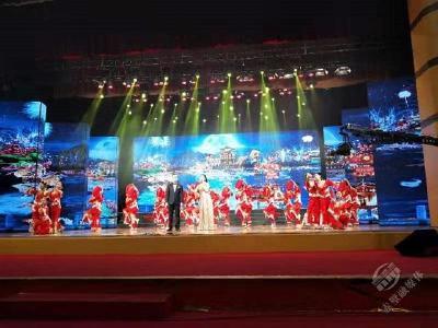 赤壁市职教(集团)学校参加咸宁市庆祝新中国成立70周年大型群众文化展演