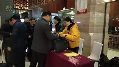 """【聚焦咸宁""""两会""""】 政协委员陆续报到 积极建言献策"""