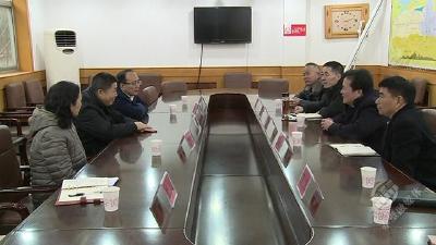 省总工会到蒲纺工业园区开展送温暖活动