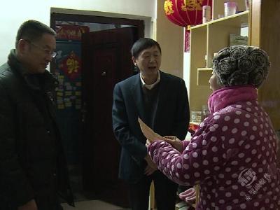叶文华开展节前慰问活动