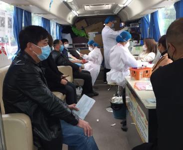 """【一线写实】献血107800毫升!古驿居民热血战""""疫"""""""