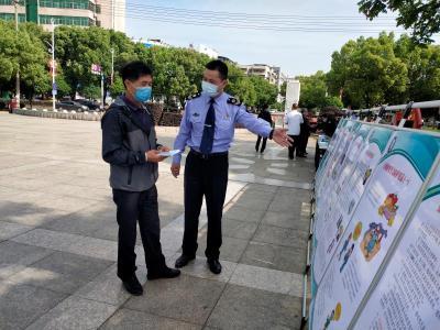 赤壁市开展职业病防治宣传活动
