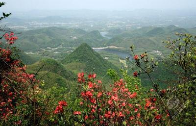 金峰山:红色历史映红绿水青山