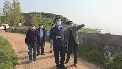 """市领导调研中央环保督察""""回头看""""项目整治工作"""