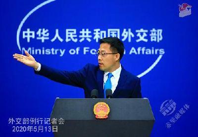 """外交部:敦促美方停止支持台当局""""以疫谋独""""的政治操弄"""