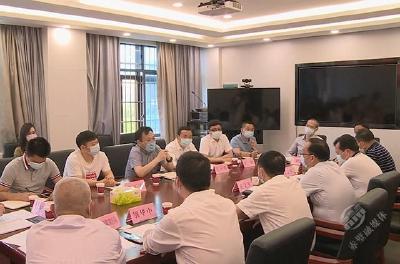 盛文军会见长江生态环保集团副总兼湖北区域总经理袁建伟一行