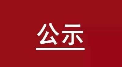 关于推荐评选咸宁市劳动模范人选的公示
