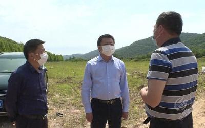 刘子恒调研防汛抢险应急演练筹备工作