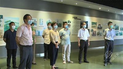 咸宁市人大常委会来赤开展《咸宁市陆水流域保护条例》立法调研