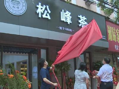 羊楼洞茶场松峰茶品牌授权墨茶公司独家运营