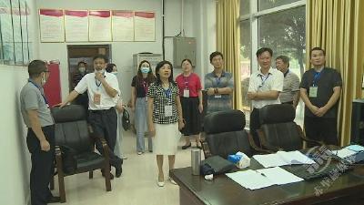宋慧宇视察全市高考考场考务工作