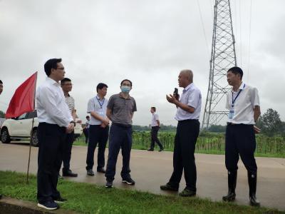 朱庆刚来赤壁市检查指导防汛救灾工作