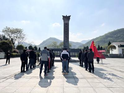 """市设计集团开展""""学党史、忆先烈""""红色教育活动"""