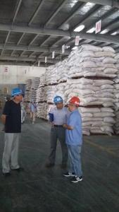 市畜牧兽医局领导到孝昌检查饲料安全生产工作