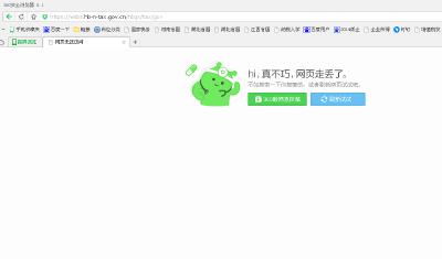 (九)网上申报页面无法打开