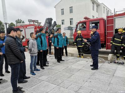 市救助管理站开展消防知识培训及消防演练活动