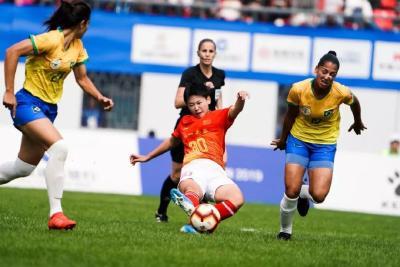 又是巴西!这次中国赢了!