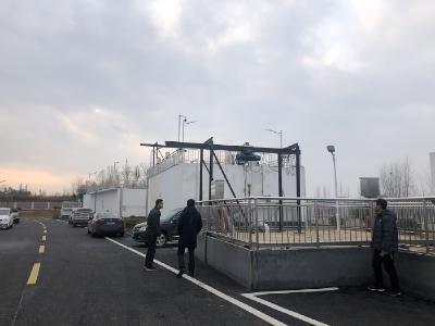 襄阳市乡镇生活污水建设专班来孝南学习考察
