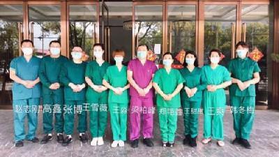 """我的团长我的团丨汉川医疗队: """"两线作战""""提高治愈率"""