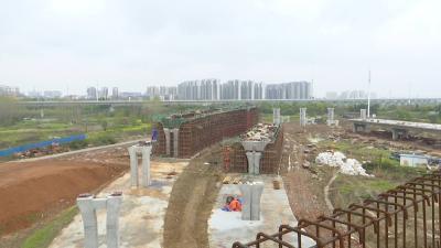 董永北路立交桥项目正全力推进