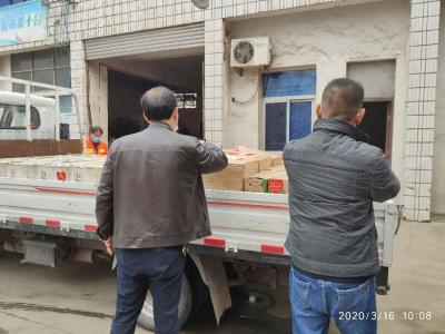 云梦 |爱心企业向一线环卫工人捐献物资