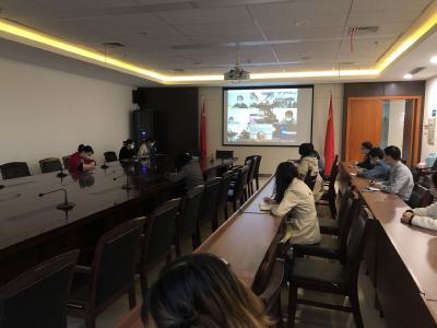 湖北澴川国投召开复工复产及疫情防控工作培训视频会议
