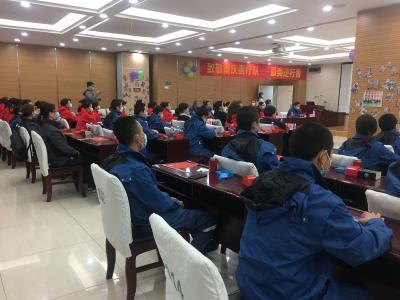 孝感市中心医院欢送重庆赴孝感支援队队员