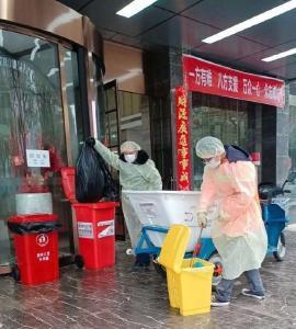 严守底线 汉川环卫保洁质量不因疫情降低标准
